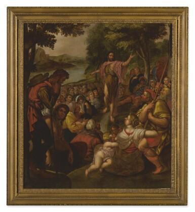View 2. Thumbnail of Lot 19. CIRCLE OF ADAM VAN NOORT | CHRIST'S SERMON ON THE MOUNT   .