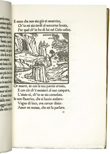 View 3. Thumbnail of Lot 63. ASHENDENE PRESS   Dante, la Divina Commedia, 1902-1905.
