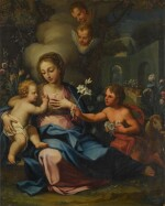 BALTHAZAR BESCHEY | Madonna and Child with the infant Saint John the Baptist