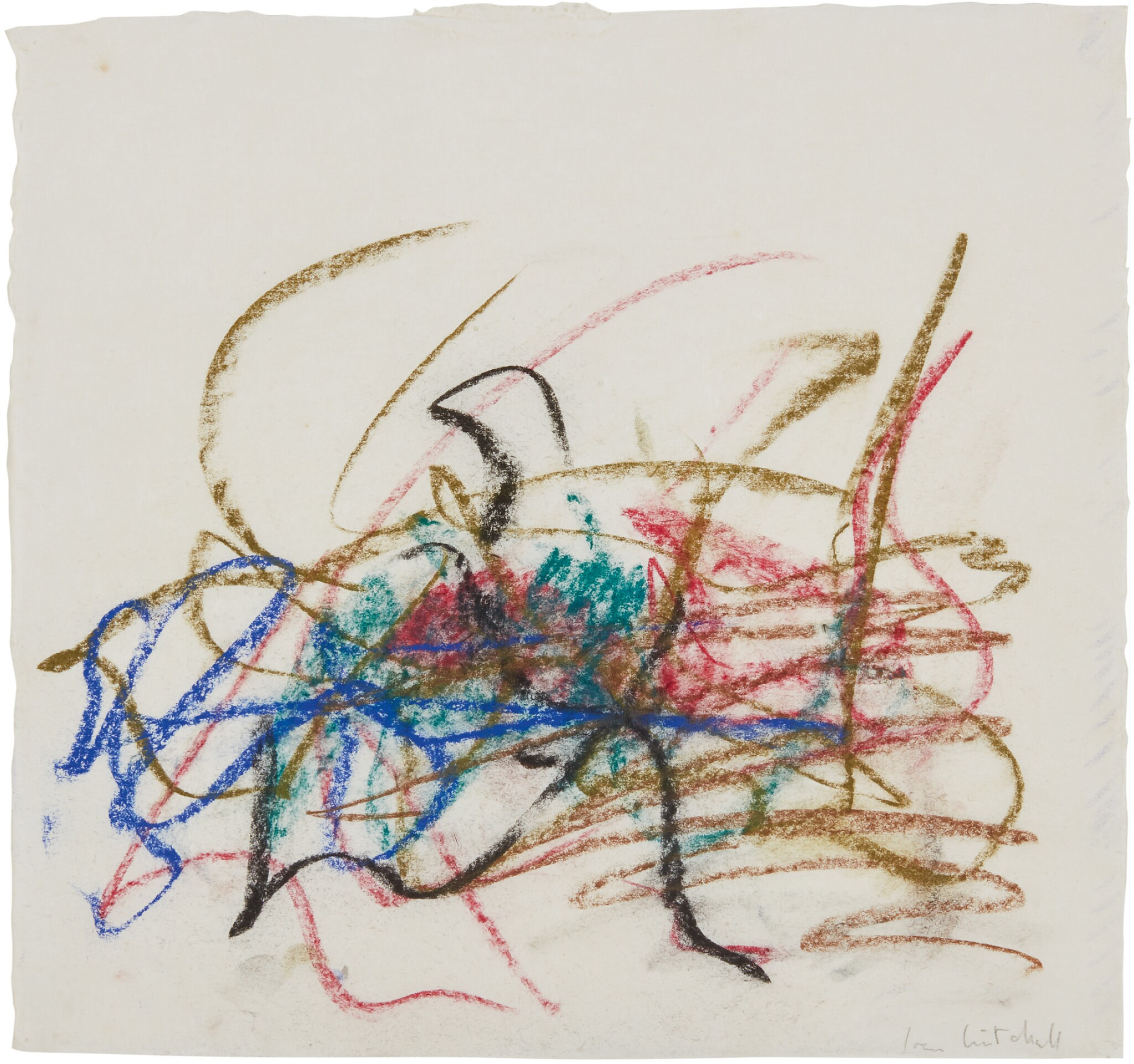 View 1 of Lot 11. JOAN MITCHELL |  UNTITLED .