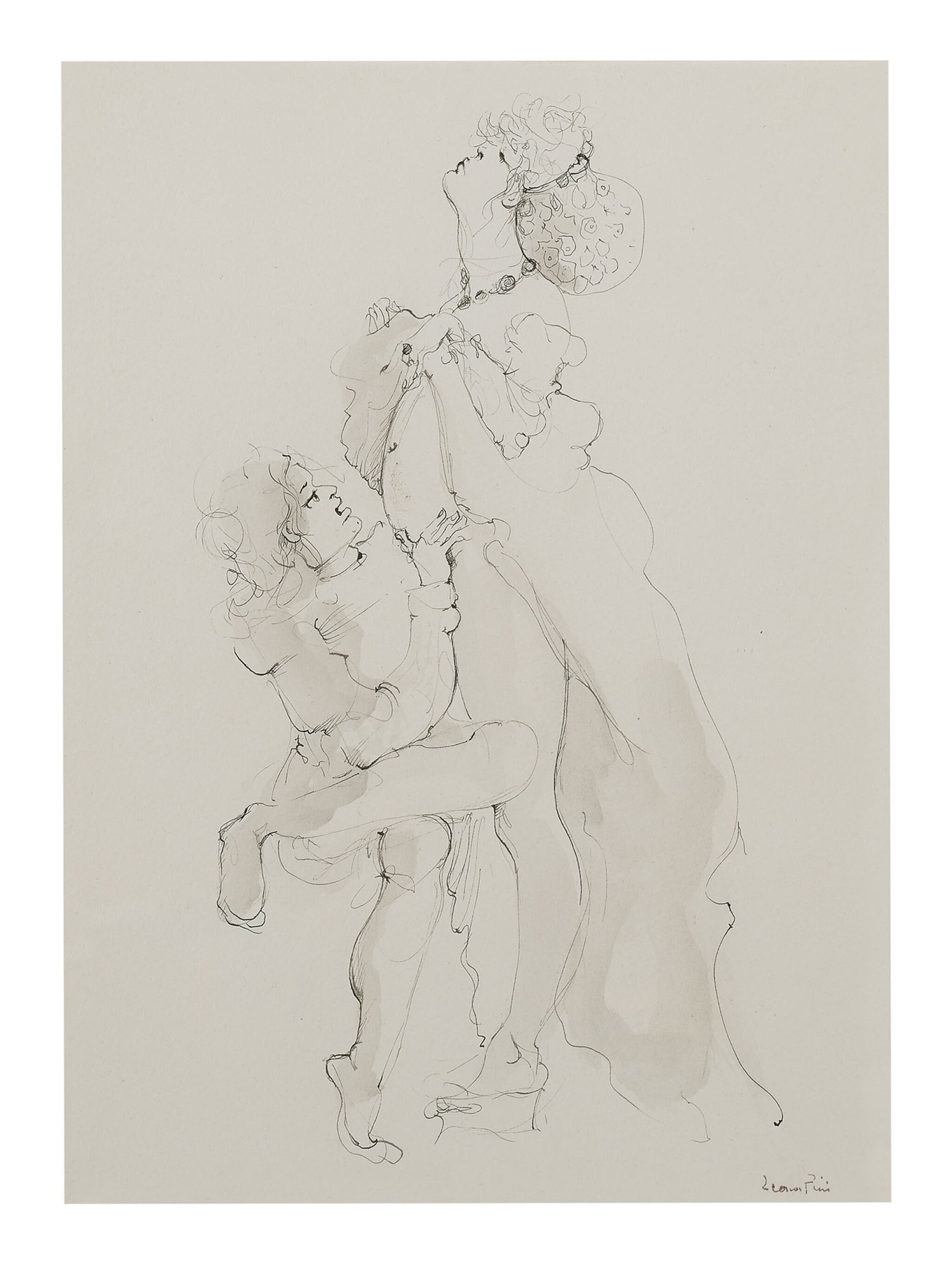 View full screen - View 1 of Lot 22. LEONOR FINI   LE CONCILE D'AMOUR 4.