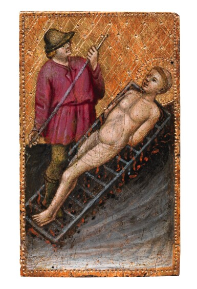 View 4. Thumbnail of Lot 130. ORAZIO DI JACOPO  |  MARTYRDOM OF ST. AGATHA; MARTYRDOM OF ST. LAWRENCE.