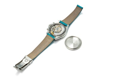 "ROLEX | COSMOGRAPH DAYTONA, REFERENCE 16516   A HISTORICALLY IMPORTANT AND POSSIBLY UNIQUE PLATINUM CHRONOGRAPH WRISTWATCH WITH LAPIS LAZULI HARDSTONE DIAL, CIRCA 1999 "" | 勞力士 | Cosmograph Daytona 型號16516 極具歷史價值及獨特鉑金計時腕錶,備青金石錶盤,錶殼編號A171132,約1999年製"""