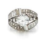 DIAMOND RING | 1.90卡拉 圓形 H色 VS1 淨度 鑽石 戒指