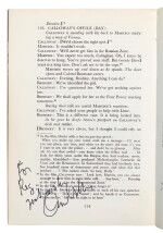GREENE--REED | The Third Man, 1969, inscribed by Orson Welles