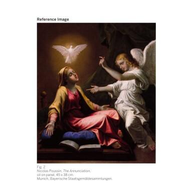 View 3. Thumbnail of Lot 16. NICOLAS POUSSIN | The Baptism of Christ| 尼古拉・普桑 | 《基督受洗》.