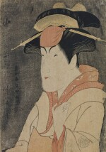 TOSHUSAI SHARAKU (ACTIVE 1794–1795), EDO PERIOD, LATE 18TH CENTURY NAKAYAMA TOMISABURO AS MIYAGINO