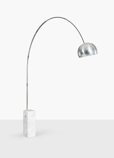 View 2. Thumbnail of Lot 234. ACHILLE ET PIER GIACOMO CASTIGLIONI | ARCO FLOOR LAMP, DESIGNED IN 1962 [LAMPADAIRE ARCO, LE MODÈLE CRÉÉ EN 1962].