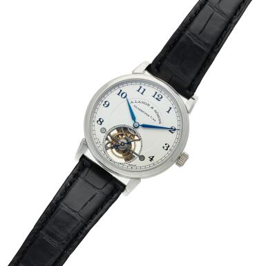 View 6. Thumbnail of Lot 297. Reference 730.025F 1815 Tourbillon  A limited edition platinum tourbillon wristwatch with zero-reset mechanism, Circa 2016.