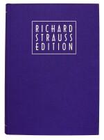 R. Strauss, Richard Strauss Edition, 30 volumes, Vienna: Verlag Dr Richard Strauss, 1996-1999