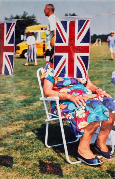 View 1. Thumbnail of Lot 33. MARTIN PARR    THINK OF ENGLAND, 1999.