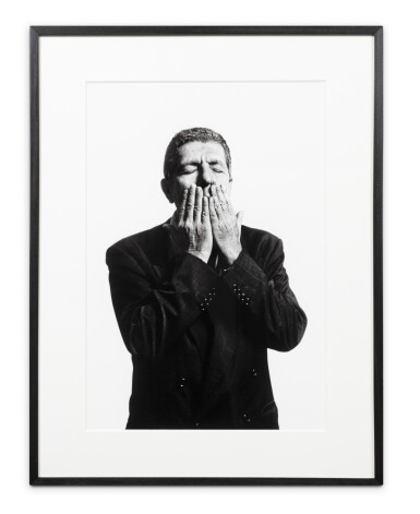View 2. Thumbnail of Lot 159. Leonard Cohen, Paris 1994.