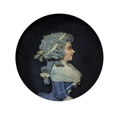 FRENCH, CIRCA 1780-1800 [FRANCE, VERS 1780-1800] | MEDALLION WITH THE PROFILE OF MADEMOISELLE DEJEAN [MÉDAILLON AU PROFIL DE MADEMOISELLE DEJEAN]