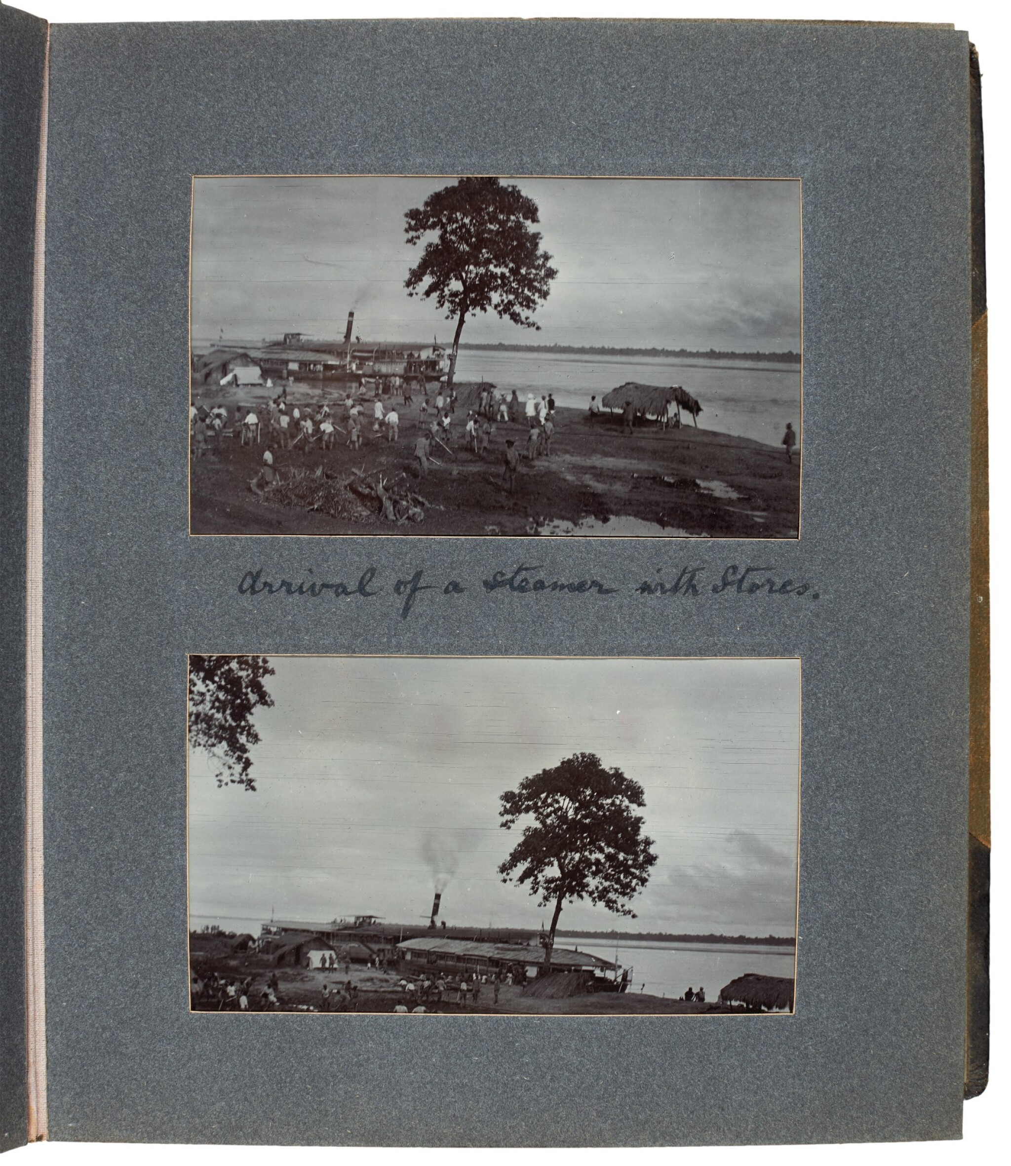 View full screen - View 1 of Lot 308. India, Abor Expedition | 4 photograph albums, 1911-12.