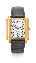 PATEK PHILIPPE | GONDOLO, REFERENCE 5024, A YELLOW GOLD WRISTWATCH, CIRCA 1995