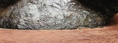 View 8. Thumbnail of Lot 33. Grand Torse de l'Homme qui Tombe (dit aussi Torse d'Homme Louis XIV ou Marsyas).