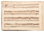 H. Purcell. 'The Armstrong-Finch manuscript'. Important early volume of sonatas for violin and for flute, 1691-1720