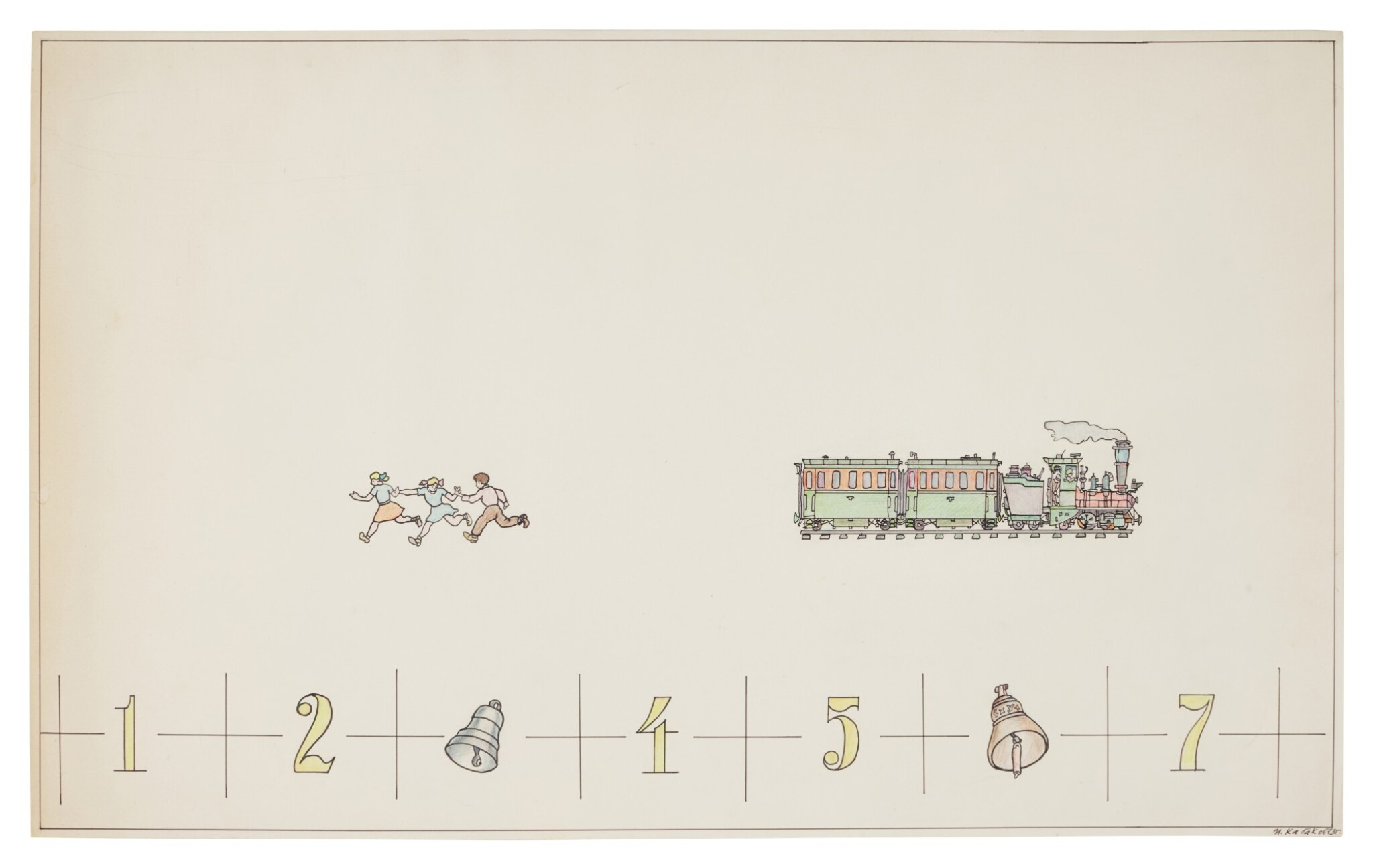 View full screen - View 1 of Lot 27.  ILYA KABAKOV | FROM THE ALBUM MATHEMATICAL GORSKY.