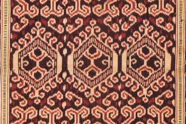 View 6. Thumbnail of Lot 22. Deux jupes, Indonésie, début du 20e siècle | Two skirts, Indonesia, early 20th century.