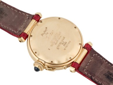 View 3. Thumbnail of Lot 100. CARTIER | PASHA, REF 1989 YELLOW GOLD WRISTWATCH WITH DATE CIRCA 1990.