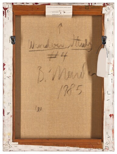 View 3. Thumbnail of Lot 33. BRICE MARDEN | WINDOW STUDY NO.4.