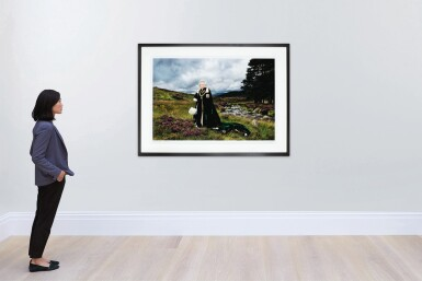 View 5. Thumbnail of Lot 82. Her Majesty The Queen, (The Queen of Scots and Chief of the Chiefs), 2010.