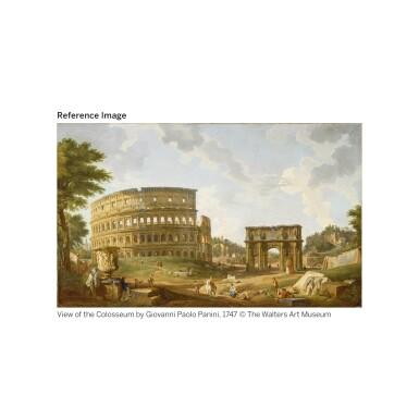 View 3. Thumbnail of Lot 14. A LARGE SCALE ITALIAN MICROMOSAIC PANEL OF THE COLOSSEUM, ROME CIRCA 1850-75, LUIGI A. GALLANDT.