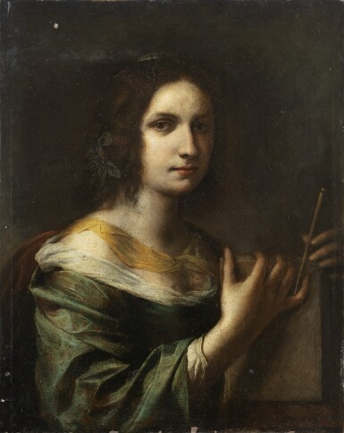 View 1. Thumbnail of Lot 148. Portrait of a Young Lady, or a Sybil .