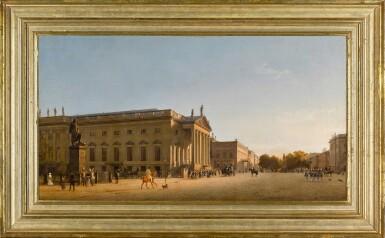 View 2. Thumbnail of Lot 72. Die königliche Oper unter den Linden (The Royal Opera, Unter den Linden, Berlin).