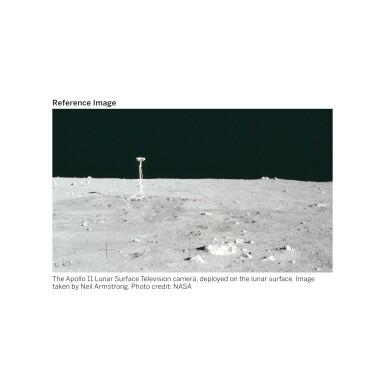 View 3. Thumbnail of Lot 104. [APOLLO 11]. ORIGINAL, FIRST-GENERATION NASA VIDEOTAPE RECORDINGS OF THE APOLLO 11 LUNAR EVA.