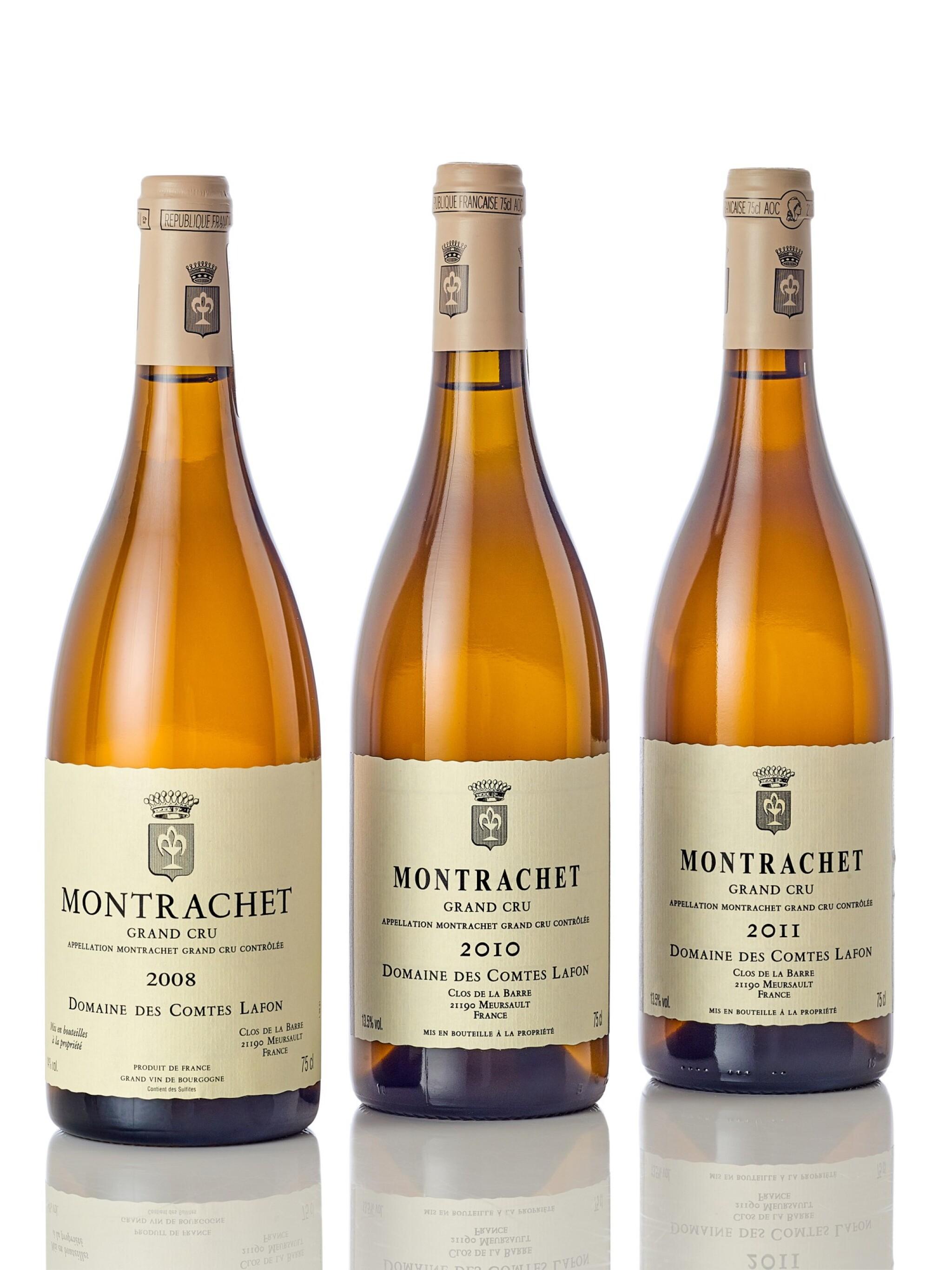 Montrachet 2011 Domaine des Comtes Lafon (4 BT)