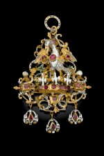 SOUTHERN GERMAN, CIRCA 1630-1640 | PENDANT WITH THE PELICAN IN HER PIETY