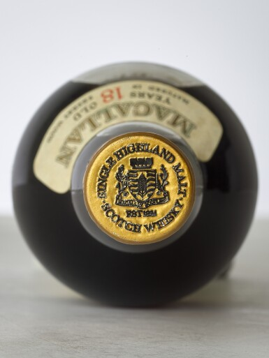View 3. Thumbnail of Lot 2002. The Macallan 18 Year Old 43.0 abv 1974 (1 BT).