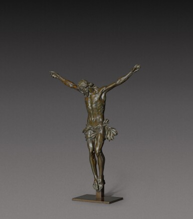 View 3. Thumbnail of Lot 160. French, 17th century   Crucifix.