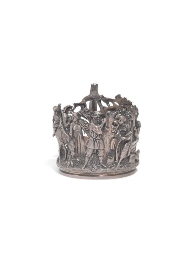 View 1. Thumbnail of Lot 326. A silver tea-glass holder, Nicholls and Plinke, St Petersburg, late 19th century.