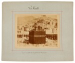 Mecca-after Muhammad Sadiq Bey | A collection of seven photographs of Mecca, circa 1880s