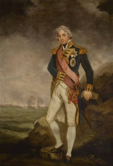AFTER JOHN HOPPNER   PORTRAIT OF HORATIO, 1ST VISCOUNT NELSON (1758–1805), FULL-LENGTH