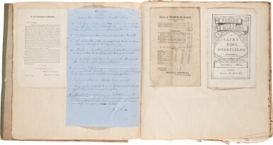 View 4. Thumbnail of Lot 141. Sheffield Football Club | Rules, Regulations, & Laws, 1859, EARLIEST RULES OF THE FIRST FOOTBALL CLUB.