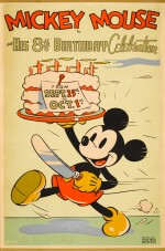 MICKEY MOUSE HIS 8TH BIRTHDAY CELEBRATION (1936) POSTER, US