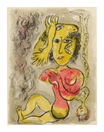 MARC CHAGALL | THE CIRCUS: ONE PLATE (M. 515; SEE C. BKS. 68)