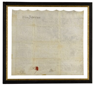 THE AFRICAN FREE SCHOOL | Indenture signed, New York, 22 July 1794