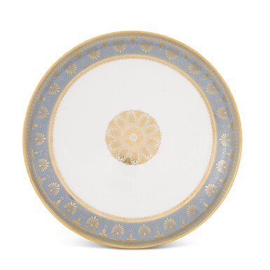 View 2. Thumbnail of Lot 82. A SÈVRES FOND AGATE COMPOSITE PART DESSERT SERVICE, VARIOUS DATES, PREDOMINANTLY 1833-1859.