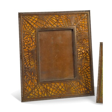 "TIFFANY STUDIOS | ""PINE NEEDLE"" PHOTOGRAPH FRAME"