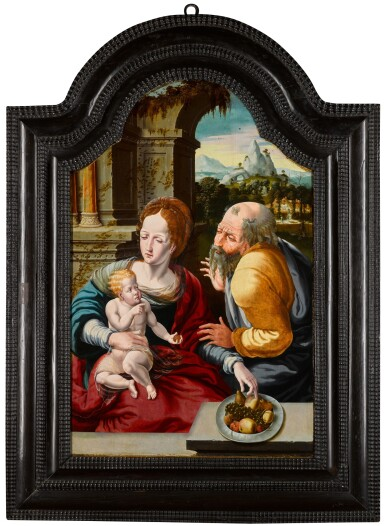 View 2. Thumbnail of Lot 113. The Holy Family.
