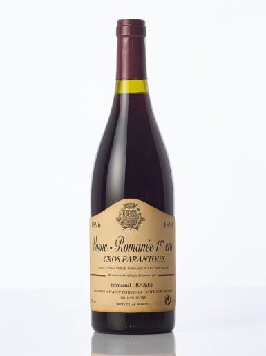 View 1. Thumbnail of Lot 6321.  Vosne Romanée, Cros Parantoux 1996 Emmanuel Rouget (1 BT).