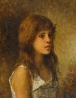 ALEXEI ALEXEEVICH HARLAMOFF | PORTRAIT OF A GIRL