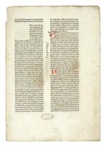 BIBLE IN LATIN | Bible, Latin. Nuremberg: Anton Koberger, 16 November 1475