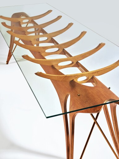 CARLO MOLLINO | AN IMPORTANT AND UNIQUE DINING TABLE