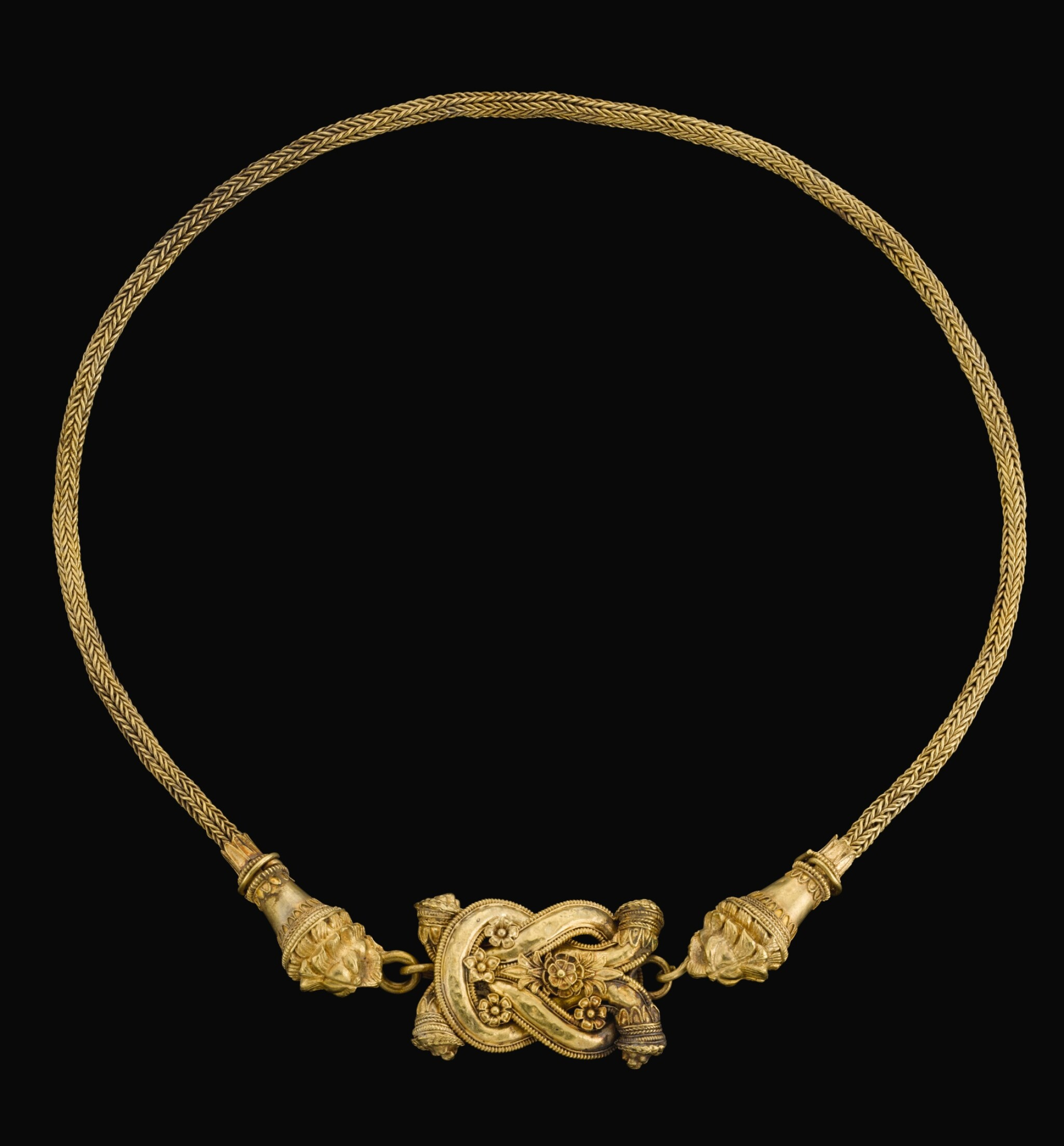 View full screen - View 1 of Lot 75. A GREEK GOLD THIGH-BAND, CIRCA LATE 4TH CENTURY B.C..