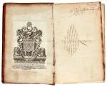 Harvey, Anatomical exercitations, London, 1653, contemporary calf